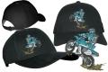 Hochwertig besticktes Base Cap mit Motocross Motiv 03