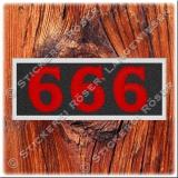 Aufnäher / Patch 666