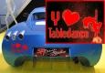 Autoaufkleber Y Love Tabledance