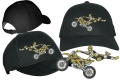 Hochwertig besticktes Base Cap mit Motocross Motiv 01