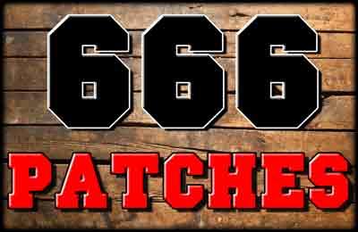 666 Aufnäher / Patches