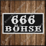 Aufnäher / Patch 666 BÖHSE