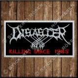 Besticktes Patch / Aufnäher 100 x 50 mm mit Disaster KFW Logo Exklusive 02