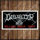 Besticktes Patch / Aufnäher 100 x 50 mm mit Disaster KFW Logo Exklusive 03