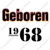 Kaffeebecher Geboren 1968