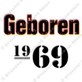 Kaffeebecher Geboren 1969