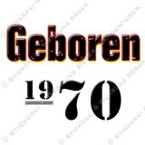 Kaffeebecher Geboren 1970