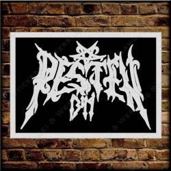 Besticktes Patch / Aufnäher 100 x 70 mm mit PESTEN 1349 Logo Exklusive 01