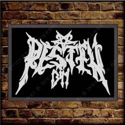 Besticktes Patch / Aufnäher 100 x 70 mm mit PESTEN 1349 Logo Exklusive 02