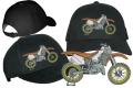 Hochwertig besticktes Base Cap mit Motocross Motiv 02